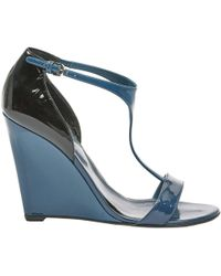 Sergio Rossi - Patent Leather Sandals - Lyst