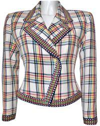 Hermès - Vintage Multicolour Linen Jacket - Lyst