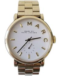 495d2ac196147 Marc By Marc Jacobs Sally Watch - Rose Gold/Black in Black - Lyst