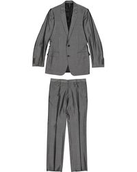 Dior - Grey Wool Suits - Lyst