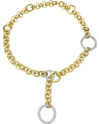 Pomellato - Pre-owned White Gold Necklace - Lyst