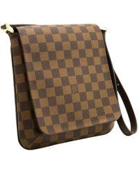 Louis Vuitton - Salsa Brown Cloth Handbag - Lyst