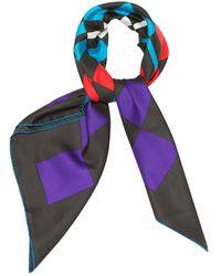 Lanvin Multicolor Silk Scarves