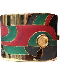 Lanvin - Pre-owned Multicolour Metal Bracelet - Lyst
