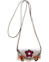 Lyst - Fendi Mini 3baguette Stud-embellished Cross-body Bag in Pink d3bb5900ef85a