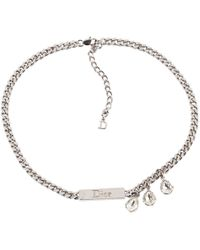 Dior | Pre-owned Necklace | Lyst
