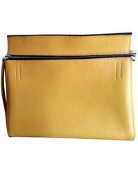 Céline - Edge Leather Handbag - Lyst