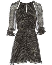 Thakoon Addition - Black Silk Dress - Lyst