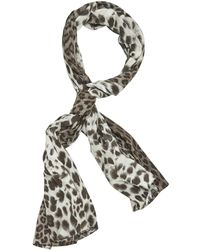 Barbara Bui - Pre-owned Black Cotton Scarves - Lyst