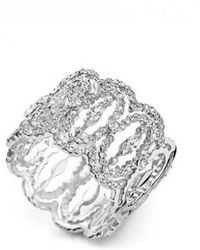 Messika - White Gold Ring - Lyst
