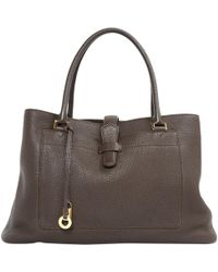 Loro Piana | Pre-owned Leather Hand Bag | Lyst