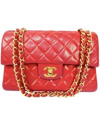 Chanel - Timeless Leather Handbag - Lyst