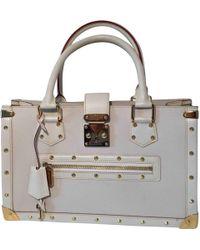 Louis Vuitton - Petit Malle Leather Handbag - Lyst