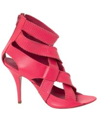 Givenchy - Pre-owned Leather Sandals - Lyst