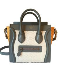 Céline - Pre-owned Luggage Leather Crossbody Bag - Lyst