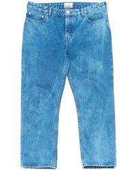 Acne Studios - Blue Cotton - Elasthane Jeans Pop - Lyst