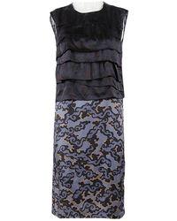 Dries Van Noten - Pre-owned Blue Viscose Dresses - Lyst