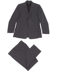 Dior - Vintage Anthracite Wool Suits - Lyst
