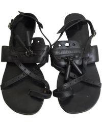 Pre-owned - Leather sandals Proenza Schouler ja5kgbfQG7