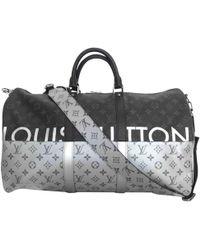 Louis Vuitton - Sac week-end Keepall en toile - Lyst