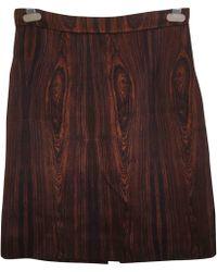 Céline - Silk Skirt Suit - Lyst