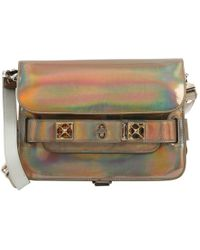 Proenza Schouler Pre-owned - Patent leather crossbody bag MpaE5Ri40Z