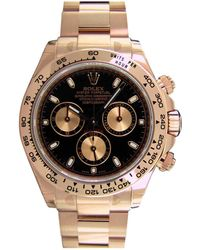 Rolex - Pre-owned Daytona Pink Gold Watch - Lyst