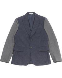 Carven - Navy Wool - Lyst
