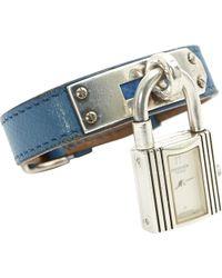 Hermès - Kelly Silver Watch - Lyst