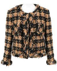 Junya Watanabe - Multicolour Wool Coat - Lyst