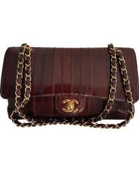 50ea0817f05 Lyst - Tory Burch Alastair Eel Stripe Bag
