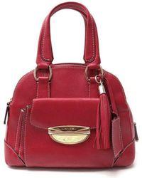 Lancel - Pre-owned Adjani Leather Handbag - Lyst