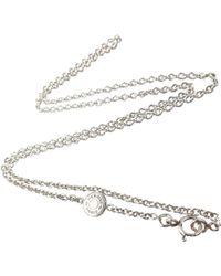 Hermès - Confetti Silver Silver Necklace - Lyst