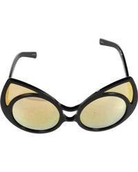 1b97468623 Linda Farrow 60.5mm Cat-eye Sunglasses in Black - Lyst