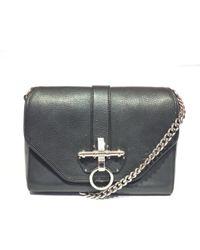 Givenchy - Obsedia Black Leather Handbag - Lyst