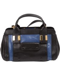 Chloé | Pre-owned Alice Leather Mini Bag | Lyst