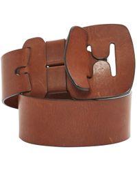 Chloé - Leather Belt - Lyst