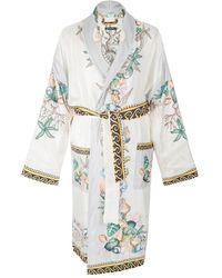 Versace - White Silk - Lyst