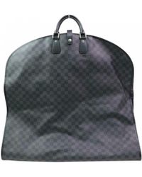 bdc7f245ae6d Lyst - Louis Vuitton Pegase 45 Luggage Bag Damier Graphite Canvas ...