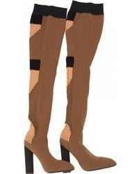 11546ba1e8d Lyst - Women s Yeezy Over-the-knee boots Online Sale
