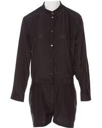 Acne Studios - Black Silk Jumpsuits - Lyst
