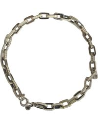 Marc By Marc Jacobs - Silver Metal Necklace - Lyst