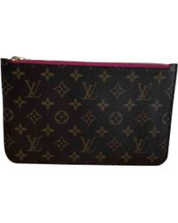 Louis Vuitton - Cloth Clutch Bag - Lyst