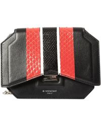 1a888f0cfd8b8 Givenchy - Bow Cut Python Baguette Tasche - Lyst