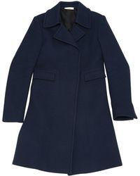 Céline - Pre-owned Wool Coat - Lyst
