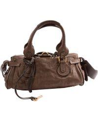 Chloé - Paddington Leather Bag - Lyst