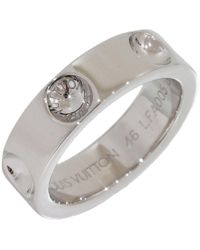 Louis Vuitton | Pre-owned Empreinte White Gold Ring | Lyst