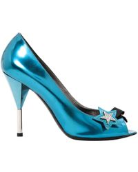 Marc By Marc Jacobs - Pre-owned Blue Patent Leather Heels - Lyst