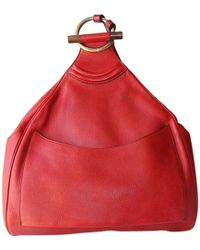 Delvaux - Leather Backpack - Lyst