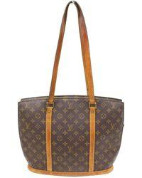 Lyst - Louis Vuitton Authentic Babylone Shoulder Tote Bag Monogram ... 484331e90c